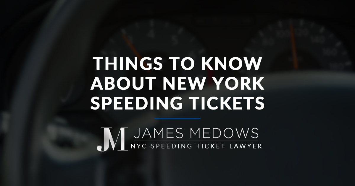 things to know about new york speeding tickets. Black Bedroom Furniture Sets. Home Design Ideas